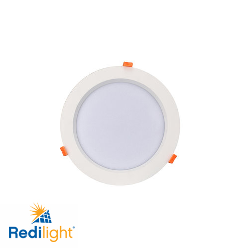 12 watt LED recessed round light for Redilight solar skylight alternative