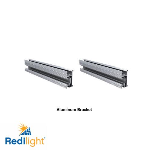 Aluminium bracket for 150 watt solar panel