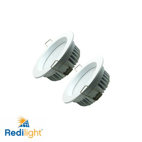 6 watt LED recessed round lights for Redilight solar skylight alternative