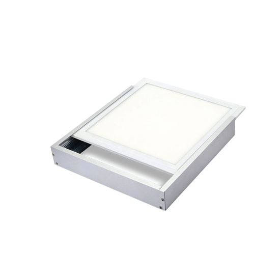 Surface mount frame for 48 watt led panel light
