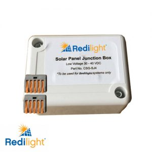 Redilight solar panel junction box