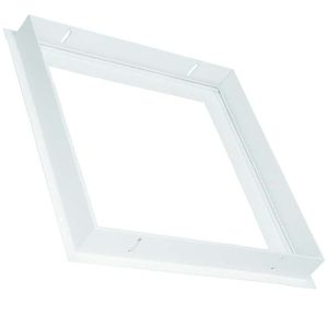 Recessed frame for LED panel light