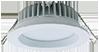 Redilight 6 watt round LED light for use with Redilight solar powered skylight alternative