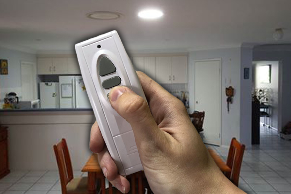 Home LED lighting with smart remote control functionality.