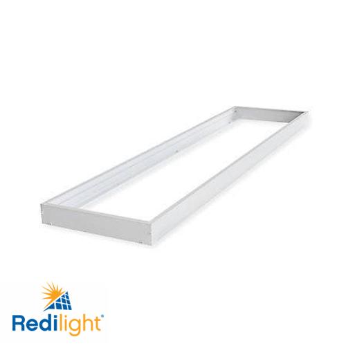 Surface mounting frame for 48 watt led lighting