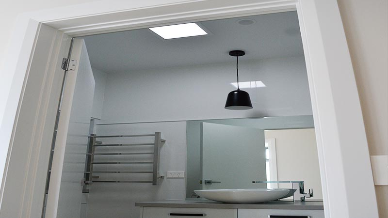Solar light for bathroom